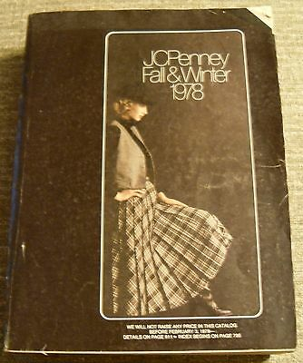 Vtg JC PENNEY Catalog 1978 Fall & Winter 1427 Pages Department Store GUC