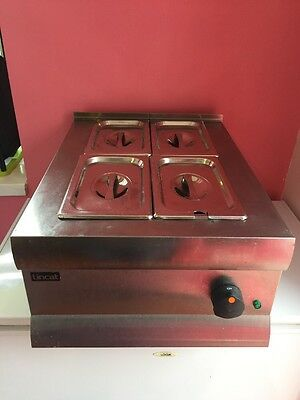 lincat 4 pot bain Marie commercial catering kitchen equipment LBM