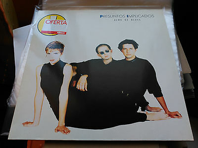 Lp Presuntos Implicados - Alma De Blues - Wea Europe 1989 Vg+