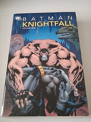 Batman Knightfall Volume 1 TPB Trade Paperback Graphic Novel