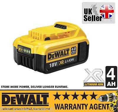 DeWALT DCB182 XR Slide 18V 4.0AH Li-Ion Battery Pack NEW