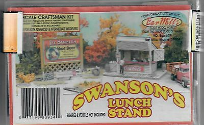 "O Scale Bar Mills ""Swanson's Lunch Stand"" Kit"