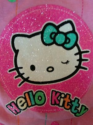 Hello Kitty T-Shirt Precious Pink Glitter and Sparkle Sizes 3T, 4T, 5T ADORABLE