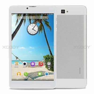 "7.0"" HD Phablet 3G Móvil Android 8GB WIFI Bluetooth Dual Cámara GPS Tablet PC"