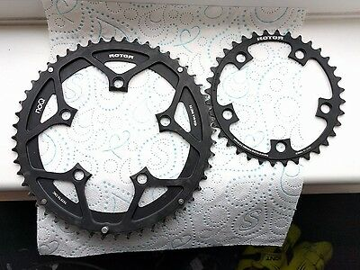Rotor NoQ chainrings 52-36