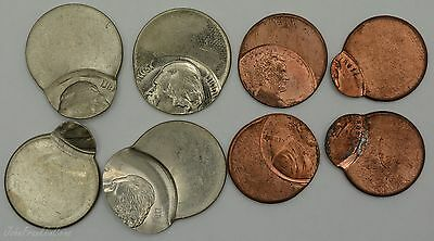 Lincoln Memorial & Jefferson Nickel Off-Center Errors (8 Coins Total) /T-229