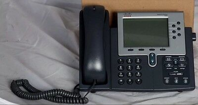 Cisco 7960 CP-7960 IP Office Business Telephone VoIP Phone w/ Power Supply
