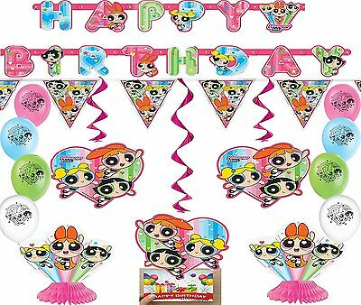 The Powerpuff Girls Deluxe Party Decorating Kit