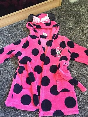 Minnie Mouse Dressing Gown 12-18 Month