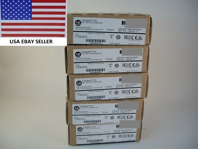 *Ships Today 2016* Allen Bradley 1769-ECR End Cap Right AB 1769 *New Sealed*