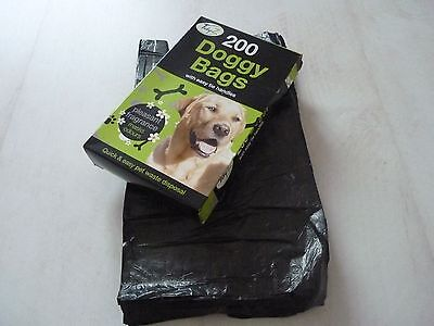 DOGGY BAGS - Scented Pet Pooper Scooper Bag Dog Cat Poo Waste Toilet Poop
