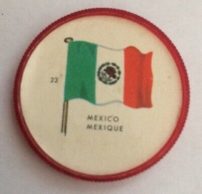 General Mills Flag Coin #23 Mexico