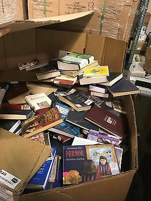 Lot of Library Books (atleast 1000s of them) Mixed Lot of all genres.