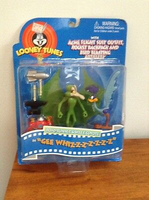 Looney Tunes WB Road Runner & Wile E Coyote figures in Gee Whiz-Z-Z-Z-Z 1997