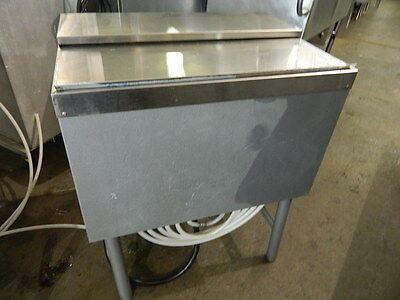 """Micro Matic 24"""" Underbar Ice Chest W/ 8 Product Cold Plate Backsplash & Lids"""