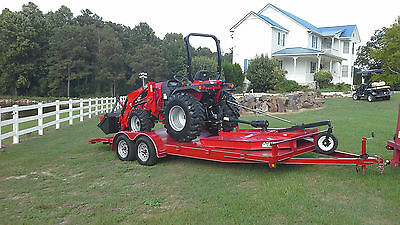 TYM 354  or 394 HST  with Loader, Cutter, Blade, and 20 foot Trailer