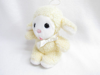 Vtg Eden Baby Lamb Squeaker--Not Working--Stuffed Plush