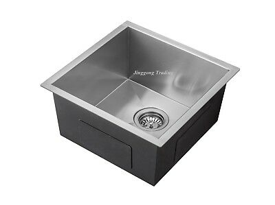 #304 Handmade Stainless Steel Kitchen Sink / Laundry Tub (510mm x 450mm x 230mm)