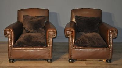 Attractive Pair of 2 Vintage 1920's Scroll Arm Chairs Armchairs for Reupholstery
