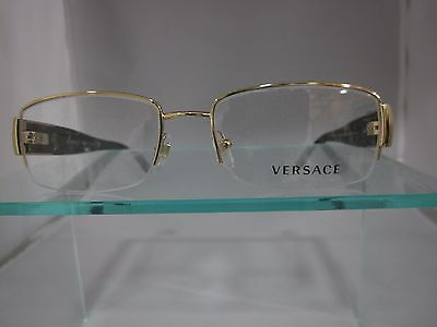 NEW Versace 1175B Eyeglasses 1002 Gold AUTHORIZED DEALER