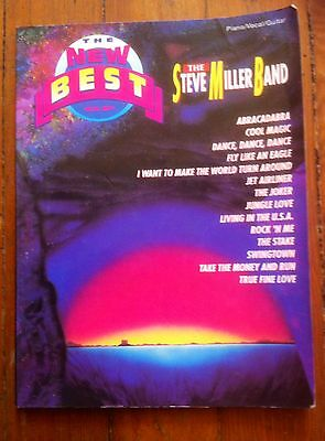 Steve Miller Band THE NEW BEST OF guitar / piano / vocal 1978 songbook