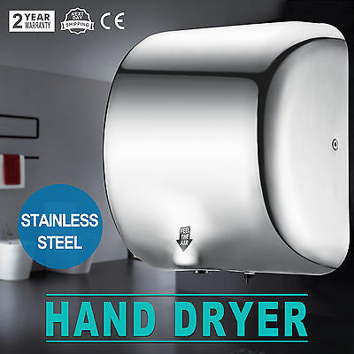 High Speed Hand Dryer1800 Watt Stainless Steel Automatic Dryer Fast Drying