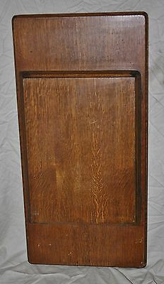 Antique Singer Treadle Sewing Machine Cabinet Wooden Flip Top -Solid Wood-