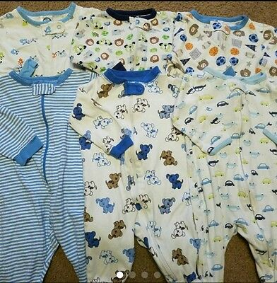 Baby Boy Clothes Pajamas Sleeper Size 0-3 Months