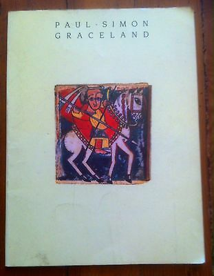 Paul Simon GRACELAND (Warner Brothers) 1986 songbook 64 pages