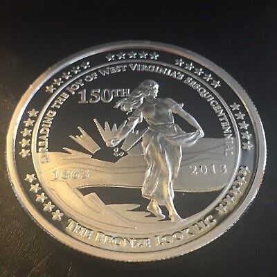 West Virginia 150th Sesquicentennial Heritage Coin