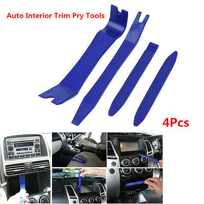 Auto Door Panel Trim Removal Kit for Car Dash Radio Audio Installer Pry Tool 4x