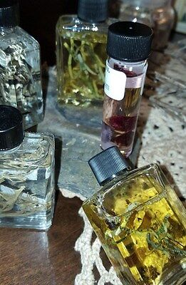 OAKMOSS Ritual Oil Blend Herb gems Wicca Pagan Witch 4 dr ORIGINAL Oils WITCH