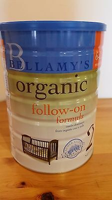 Bellamy's Step 2 900g baby milk powder formula X 6 tins (贝拉米奶粉二段)