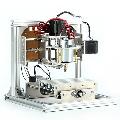 CNC Routet lather Wood Carving PCB Milling Mini Engraving Machine 3 Axis