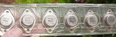 2N4348 Rca Original Npn High Voltage, High Current Power Transistors To-3