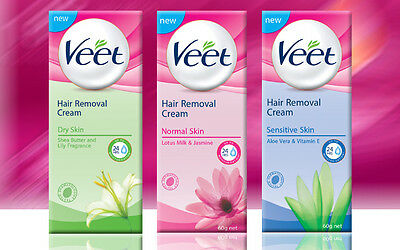 Veet Hair Removal Cream Dry Normal Sensitive Skin Suprem Essence Leg Body Bikini