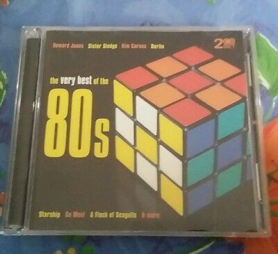 Very Best of the 80s by Various Artists (CD, Jul-2006, 2 Discs, Mastersong)