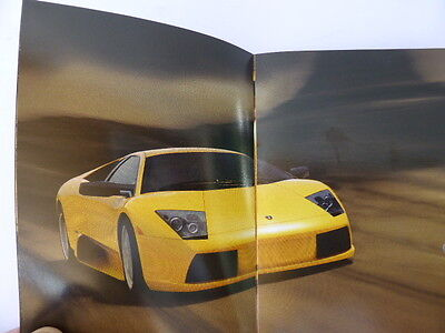 Lamborghini Murcielago sales catalogue/booklet/brochure
