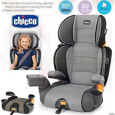 Child Booster Car Seat 2in1 KidFit Zip Safe Comfy Perfect Toddler Travel System