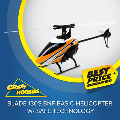 Blade 130S BNF Basic Helicopter w/ SAFE Technology #BLH9350 CRAZY HOBBIES