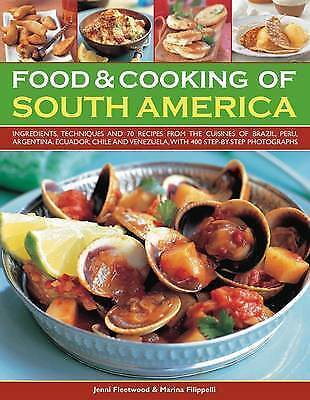 New Food and Cooking of South America [Paperback] by Jenni Fleetwood; Marina Fil