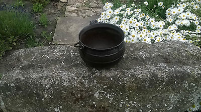 Large Vintage Cast Iron Romany Gypsy Cauldron Cooking Pot ,camping Stew Pot