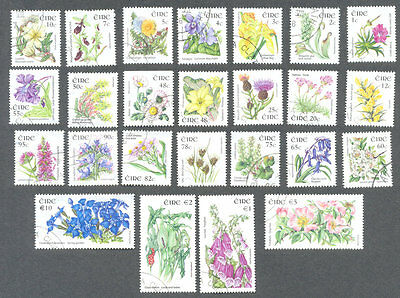 Ireland-Wild Flowers set complete very fine used