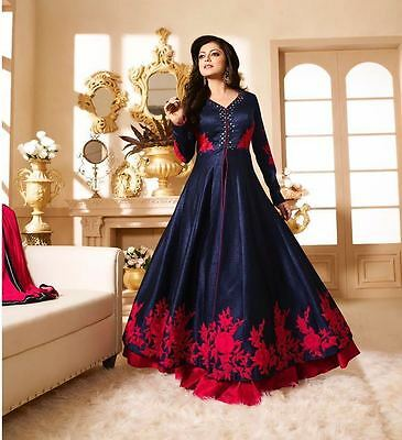 Indian Designer Bollywood Party Anarkali Salwar Suit Pakistani Kameez Wear