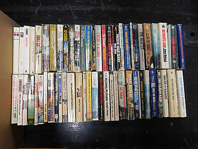 Huge Vintage War Paperback Lot of 58 Mixed Condition