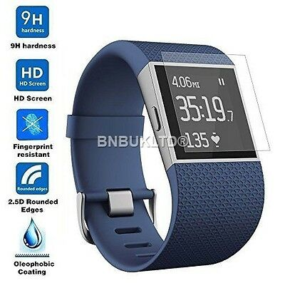 Tempered Glass Screen Protector for Fitbit Surge Fitness Watch