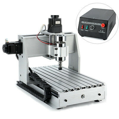 3 Axis Engraving Machine CNC 3020T Router Milling 3D Cutter Wood Carving Drill