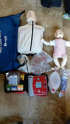 AED Little Anne Laerdal CPR Training Kit