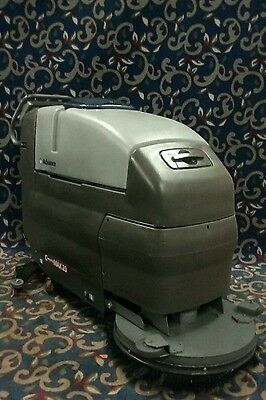 "Advance 28"" battery-powered automatic floor scrubber with FREE shipping"