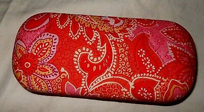 Vera Bradley Hard Case Eye Glasses Pink Paisley